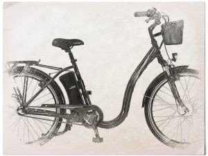 Didi Thurau Edition gezeichnet in schwarz-weiß
