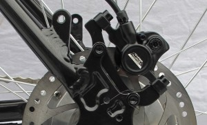Powerpac Mountainbike - Hydraulische Scheibenbremsen