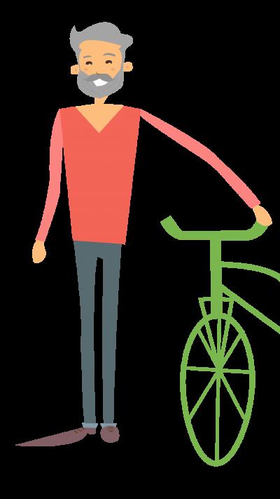 E-Bikes für Senioren