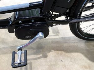 Motor des E-Trikes von Helkama