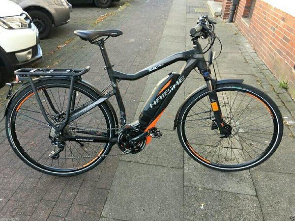 E Bike HAIBIKE SDURO Trekking S RX Orange/Schwarz