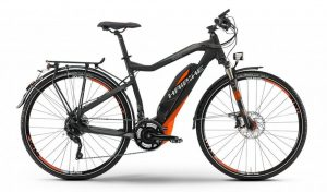 Herrenmodell Haibike SDURO Trekking S RX in schwarz/orange