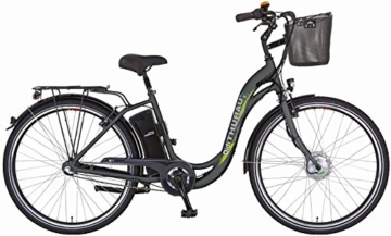 "Didi Thurau Edition - Alu City Comfort PLUS 28"", 36 Volt, 7-Gang, mit Korb -"