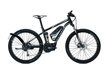 E-Bike Focus Thron Speed Limited 9G E-Mountainbike 17Ah 27,5' Herren schnelles Ebike bis 45 km/h, Rahmenhöhen:52, Farben:black 36v/17ah -