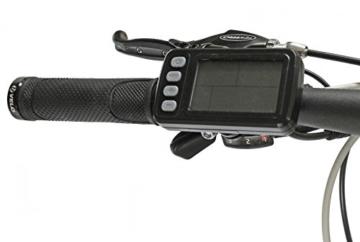 EASYBIKE E-Bike E-MTB Elektofahrrad PEDELEC M3 600 26 Zoll Bereifung 11Ah 396Wh E-Mountainbike Modell 2014 SCHWARZ -