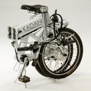 "Elektro-Faltrad ""Kadanie"", 20 Zoll, 3-Gang, Aluminiumrahmen, weiß, Kardanantrieb -"