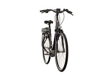 Kreidler Vitality Eco 6 400Wh Wave Damen Nexus 8G Di2 schwarz matt Rahmengröße 45 cm 2016 E-Cityrad -