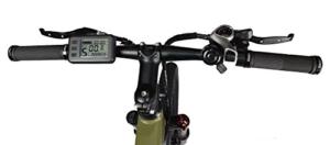 LLobe Erwachsene 26 Zoll Alu Falt Mountain E-bike Sport, Olivegrün, One Size, 130749 -