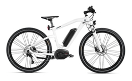 Original BMW Cruise e-Bike Fahrrad eBike Modell 2016 Frozen Brilliant White / Black Größe: M -