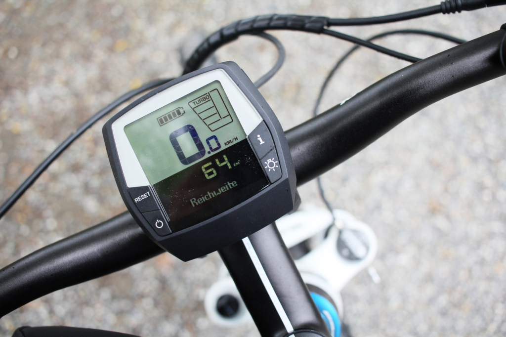 Display an einem E-bike