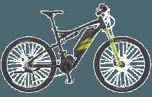 mountainbike rex bergsteiger