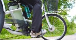E-Bike auf Asphalt