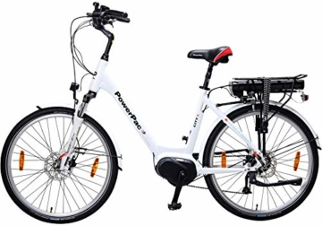 Powerpac Citybike Test Rückseite
